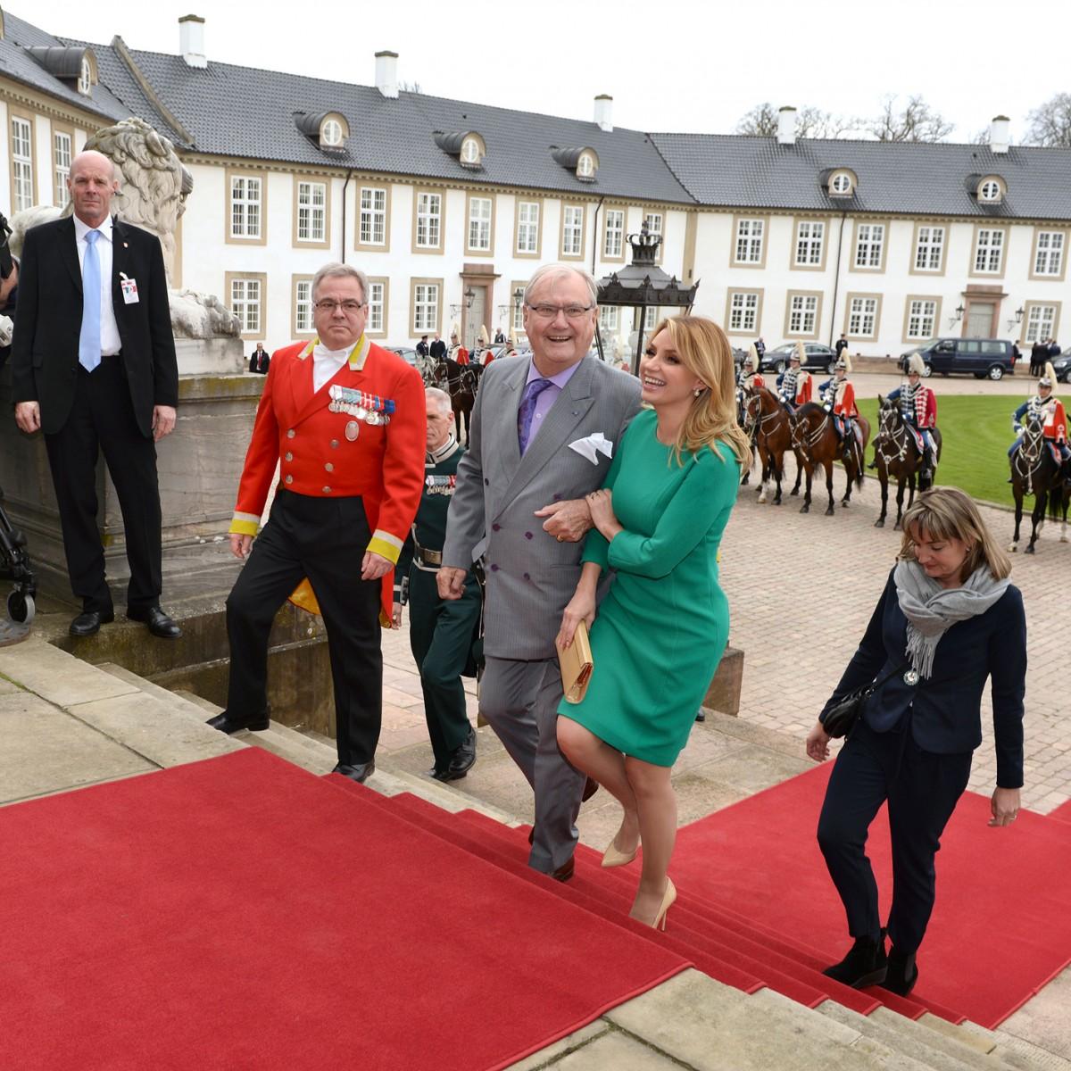 Pressefotograf Peter Dahlerup på Fredensborg Slot