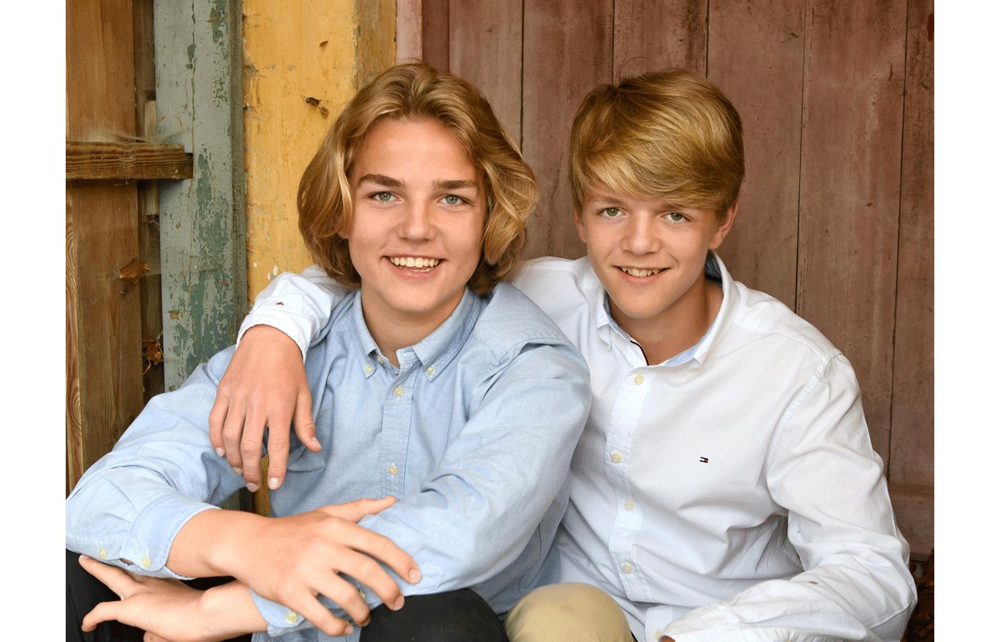 Søskende billeder er populære gaver