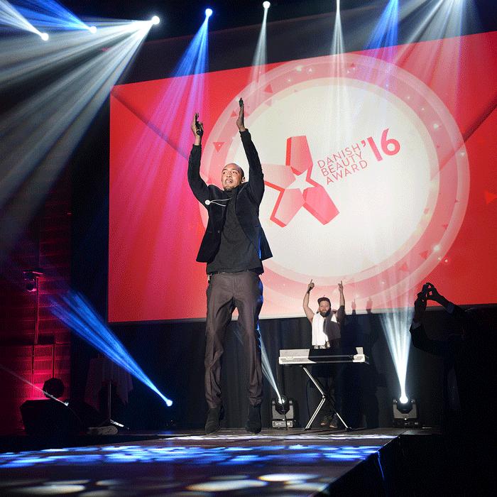 Eventfoto fra Danish Beauty Award