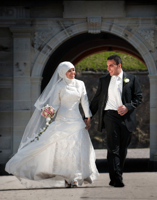 Brudepar – Bryllupsfotograf