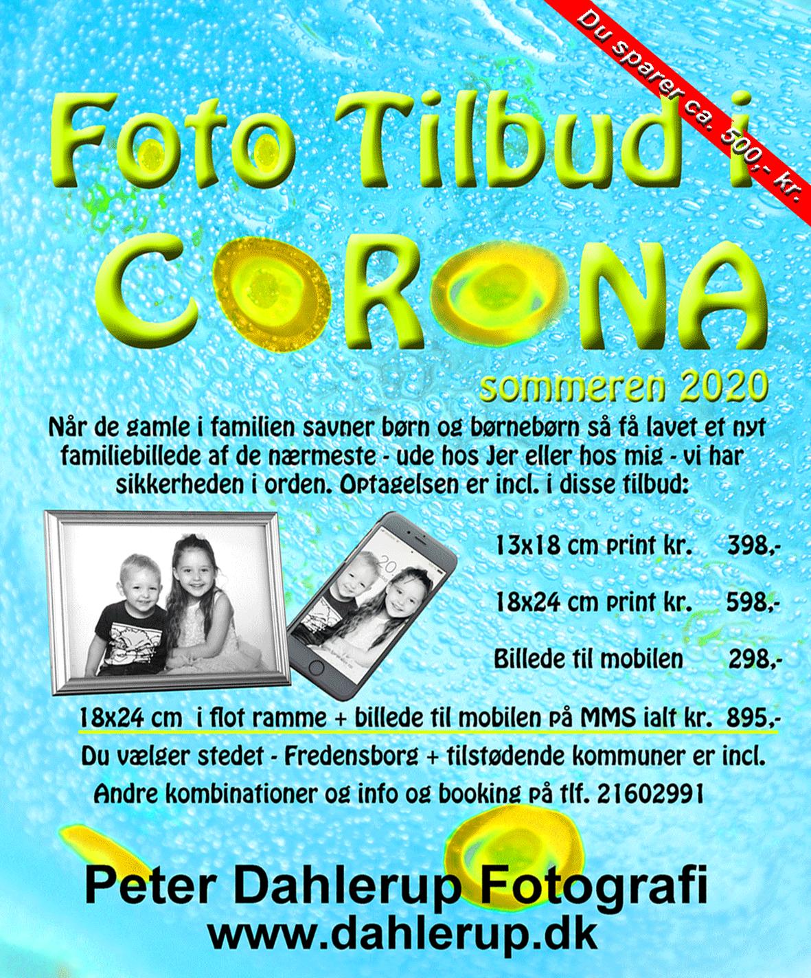 Corona tilbud til familier