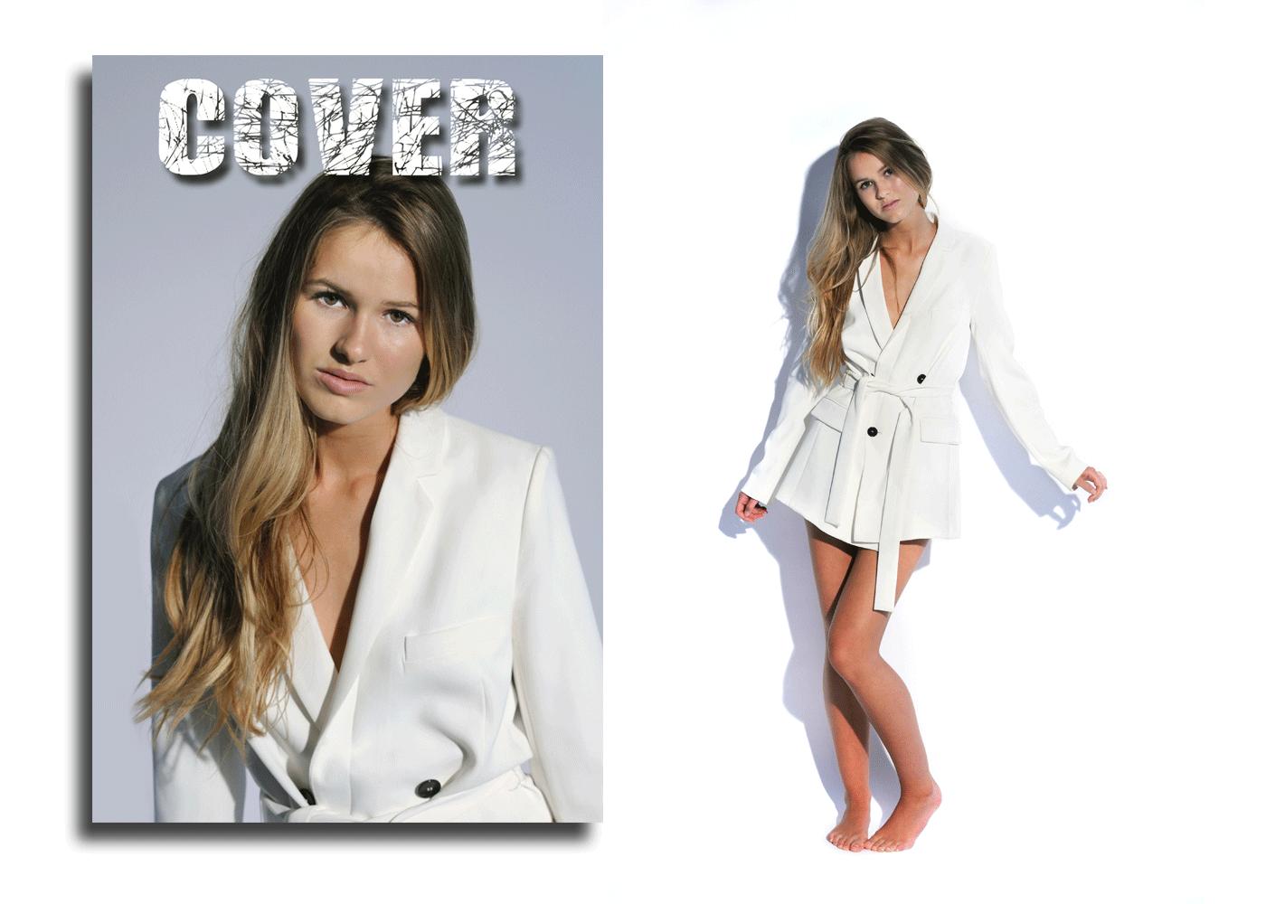Modelfoto til magasiner
