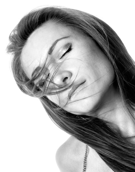 Model billede i studie