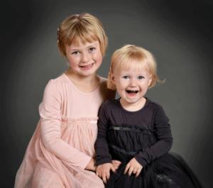 Børnehavefoto på tilbud i børnehave med søskende en weekend