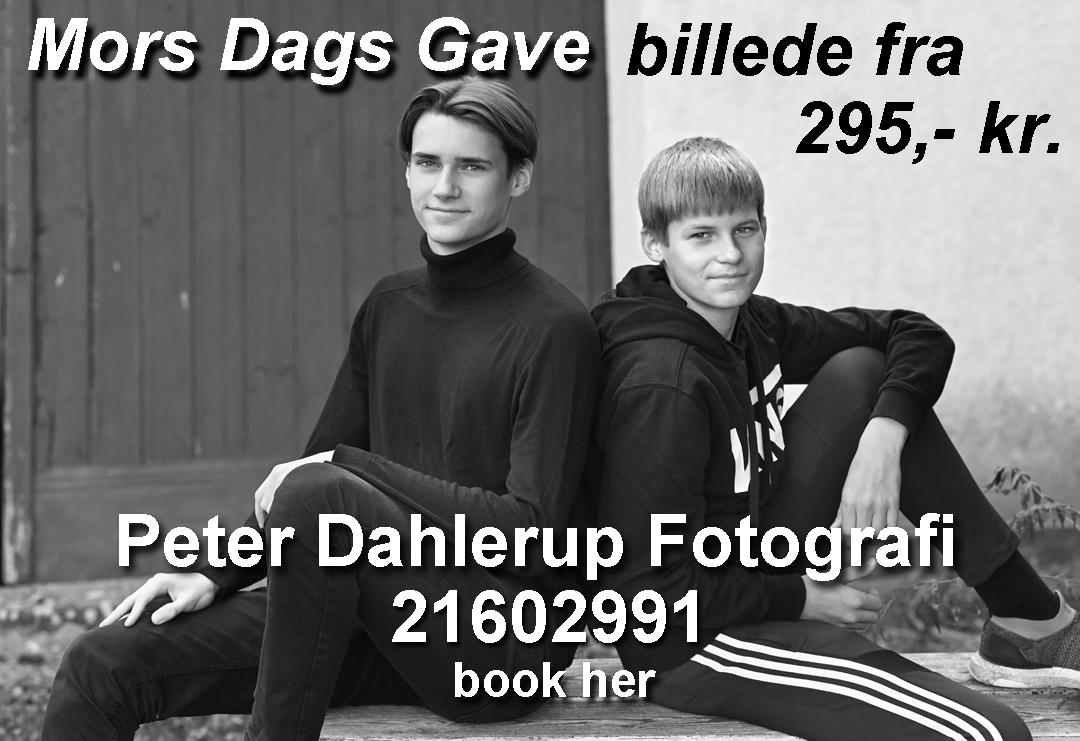 Mors dags gave foto tilbud hos fotograf peter dahlerup i fredensborg med optagelse og billede til mor eller mormor