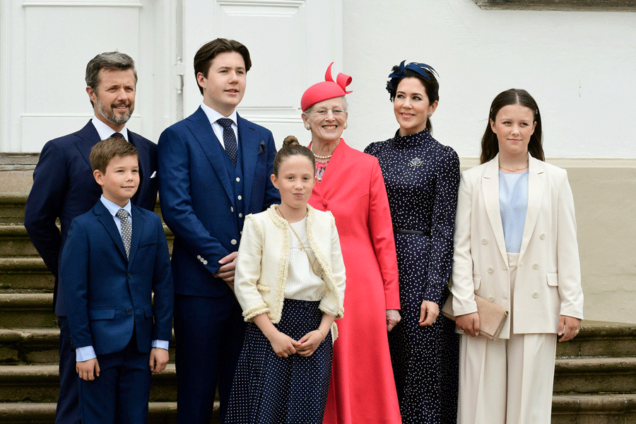 Pressefotos af kendte og kongelige